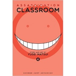 Mangá Assassination Classroom Vol.4