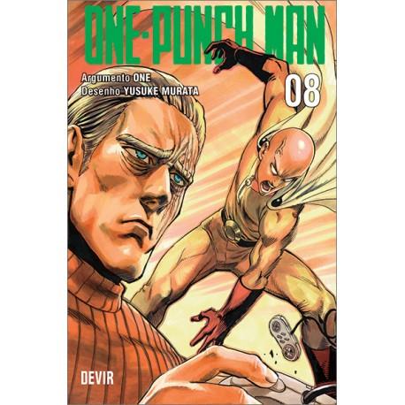 One Punch Man vol 08 (Português)