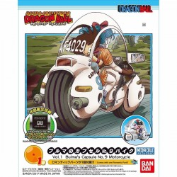 DRAGON BALL MECHA COLL BULMA CAP MOTORC