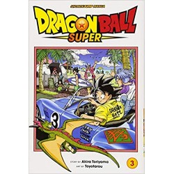 Dragon Ball Super MANGA VOL 3 ENG