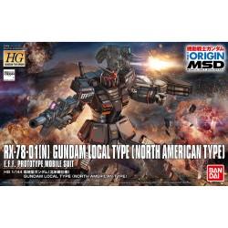 GUNDAM BANDAI RX-78-01 NORTH AMERICAN TYPE 1/144
