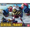 GENERAL FRANKY Plastic Model BANDAI