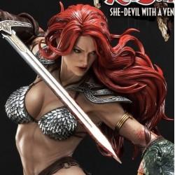 Red Sonja She-Devil with a Vengeance Prime 1 Studio