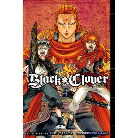 Black Clover Vol.4