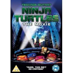 Teenage Mutant Ninja Turtles THE MOVIE 1990