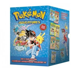 Pokemon Adventures Red & Blue Box Set