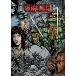 Hardcover Teenage Mutant Ninja Turtles The Ultimate Collection, Vol. 1