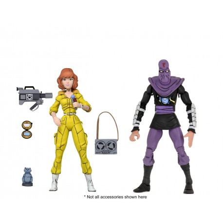 Pack April O'Neil & Foot Soldier NECA