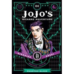 JoJo's Bizarre Adventure MANGA part 3 vol 1