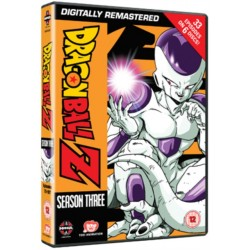 DVD Dragon Ball Z Remastered -Season 3
