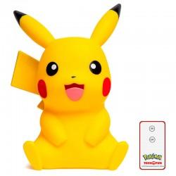 Candeeiro Pikachu Luz LED
