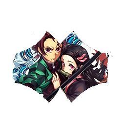 Kimetsu no Yaiba (Demon Slayer) máscara