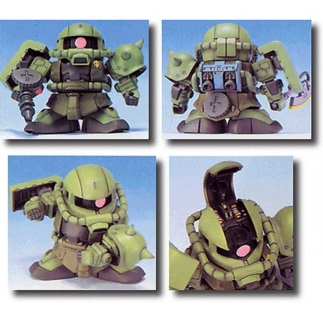 Zaku II MS06 S Model Kit