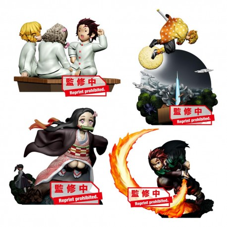 Demon Slayer (kimetsu no yaiba) Petitrama Series MEGAHOUSE