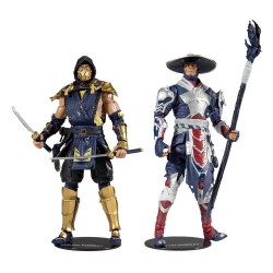 Mortal Kombat 2-Pack Scorpion & Raiden