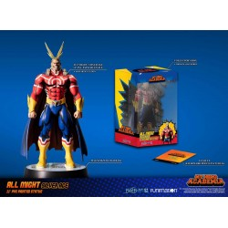 My Hero Academia Action Figure All Might Silver Age (Standard Edition)