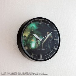 Final Fantasy VII Remake Wall Clock with Sound