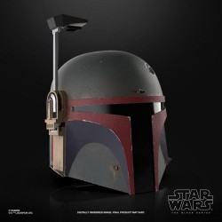 The Mandalorian Black Series Electronic Helmet Boba Fett (Re-Armored)