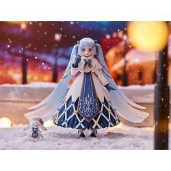 Hatsune Miku Figma Action Figure Snow Miku: Glowing Snow Ver.