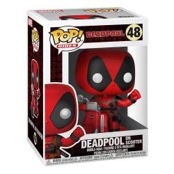 Deadpool POP! Rides Deadpool & Scooter