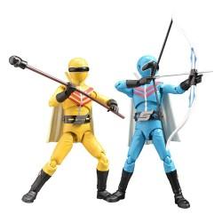 Himitsu Sentai Gorenger Hero Action Figures Aorenger & Kirenger 17 cm