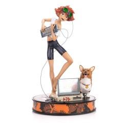 Cowboy Bebop Statue 1/4 Ed & Ein 44 cm