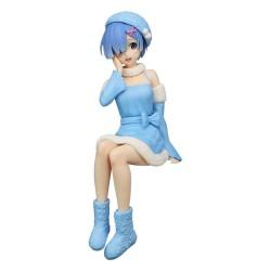 Re:Zero Noodle Stopper PVC Statue Rem Snow Princess 14 cm