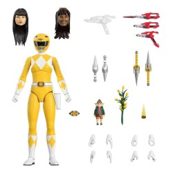 Mighty Morphin Power Rangers Ultimates Action Figure Yellow Ranger 18 cm