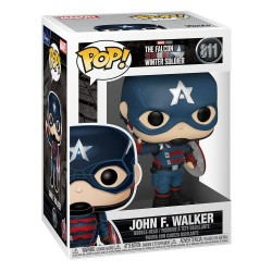 CThe Falcon and the Winter Soldier POP! Vinyl Figure Captain America
