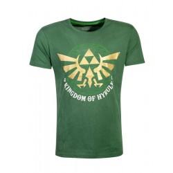 The Legend of Zelda T-Shirt Golden Hyrule Size M