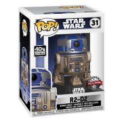 Star Wars POP! Movies Vinyl Figure Dagobah R2-D2 9 cm