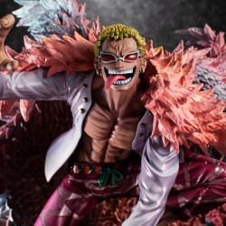 One Piece Excellent Model P.O.P PVC Statue SA-Maximum Heavenly Demon Donquixote Doflamingo 35 cm