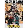My Hero Academia Poster  Be a Hero 61 x 91 cm