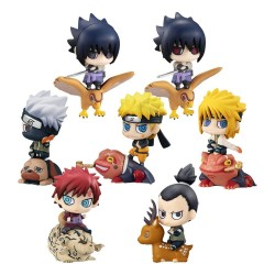 Naruto Shippuden Petit Chara Land Trading Figure 5 cm Assortment New Color!